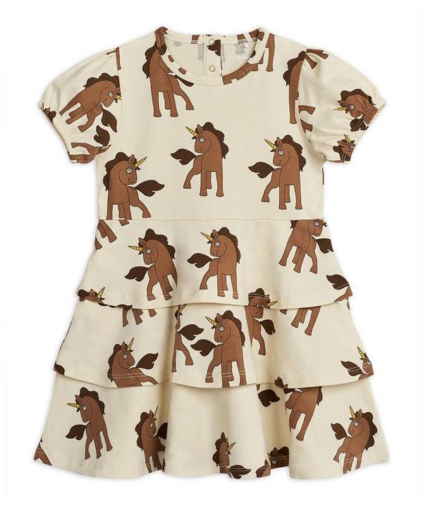 Unicorns Dress 2-8 Years