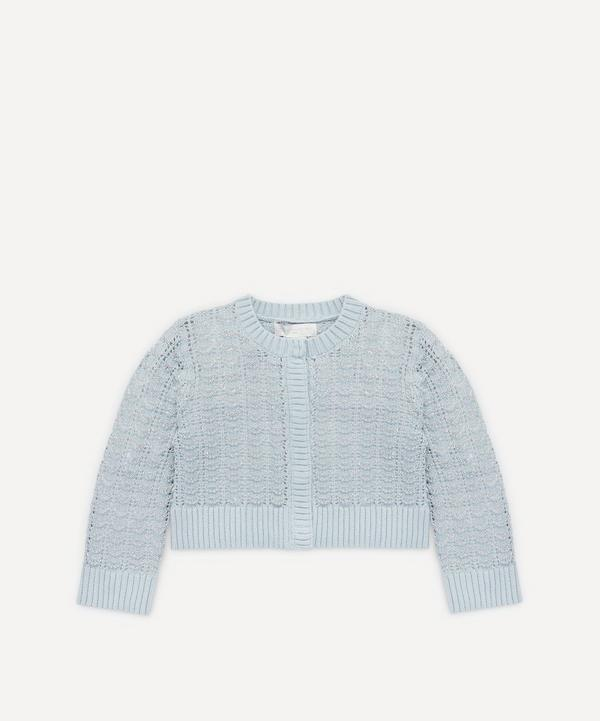 Shell Knitted Cardigan 2-8 Years