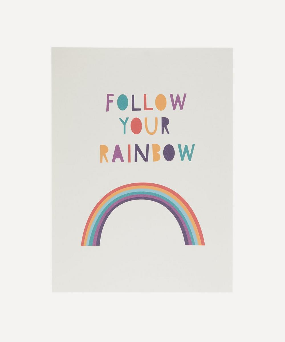 Follow Your Rainbow Print