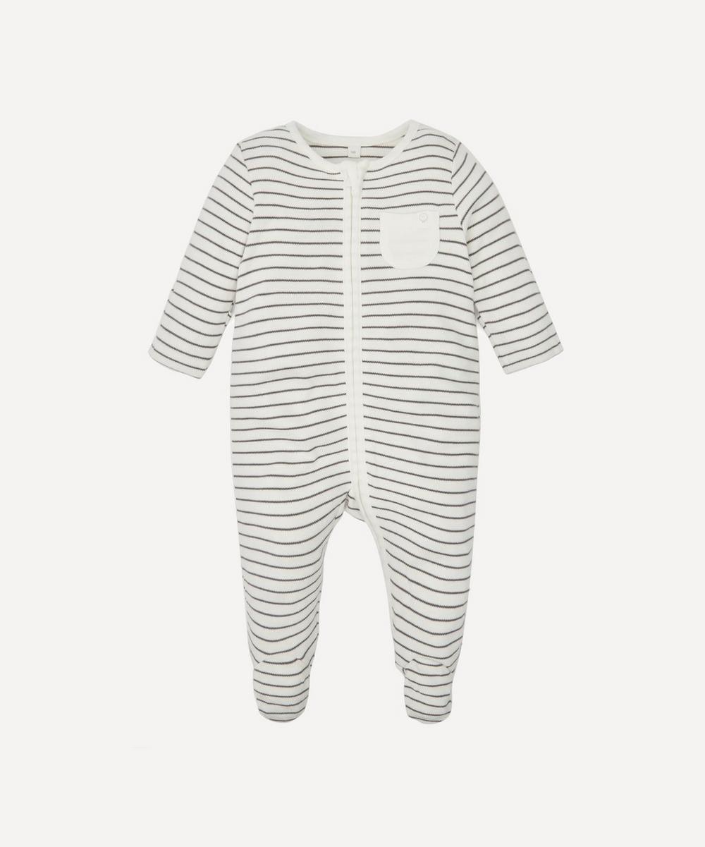 Stripe Zip-Up Sleepsuit 0-24 Months