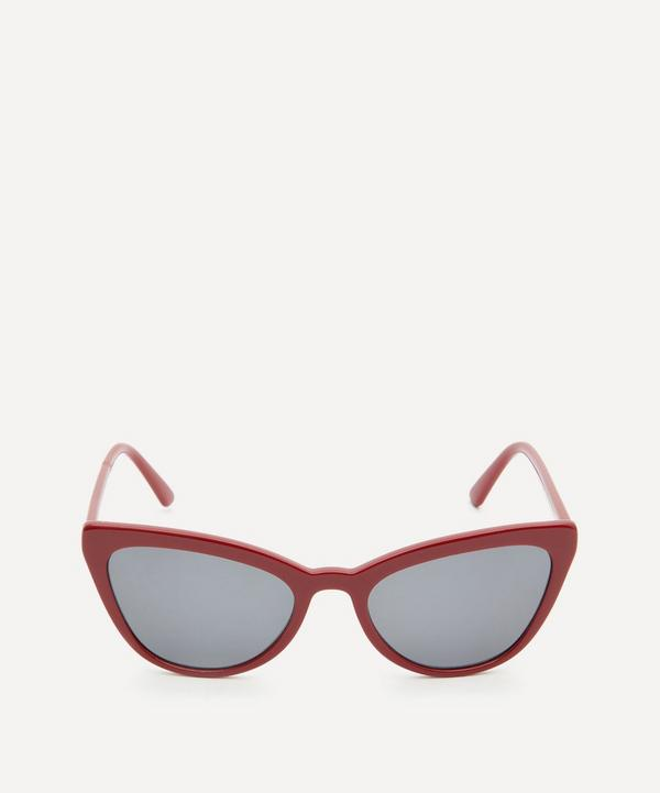 Oversized Acetate Cat-Eye Sunglasses
