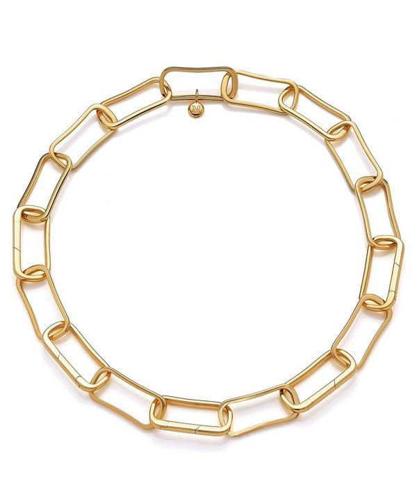 Gold Vermeil Alta Capture Large Link Necklace