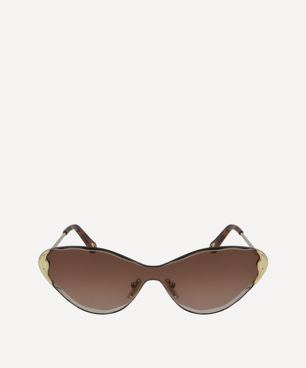 Curtis Metal Cat-Eye Sunglasses