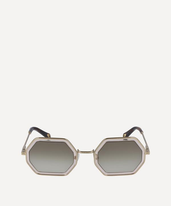 Tally Octagonal Sunglasses