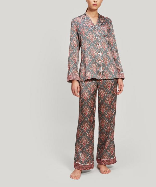 Eluard and Bramham Silk Charmeuse Pyjama Set