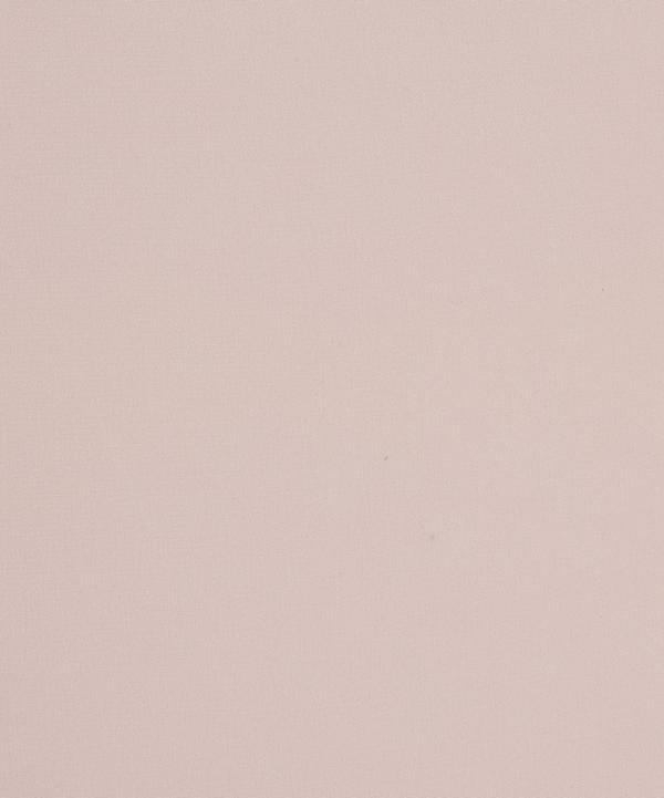 Blush Plain Silk Crepe de Chine