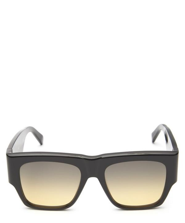 Bold Flat Top Acetate Sunglasses