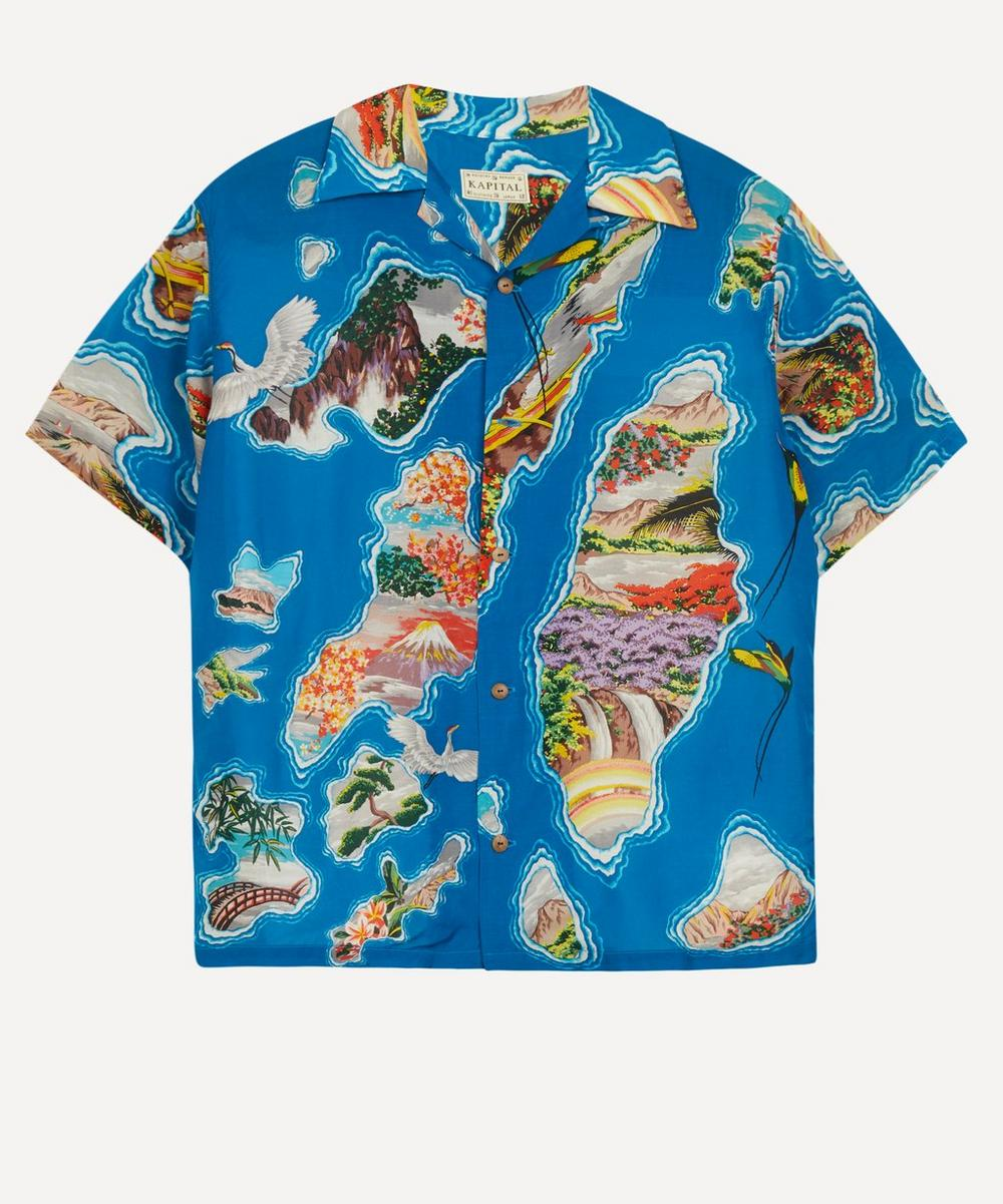 Pacific-Atlantic Aloha Silk-Rayon Shirt
