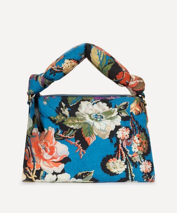 Medium Floral Jacquard Padded Handbag