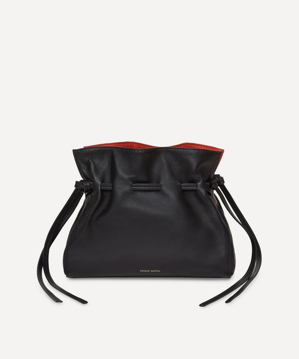 Mini Leather Protea Cross-Body Bag