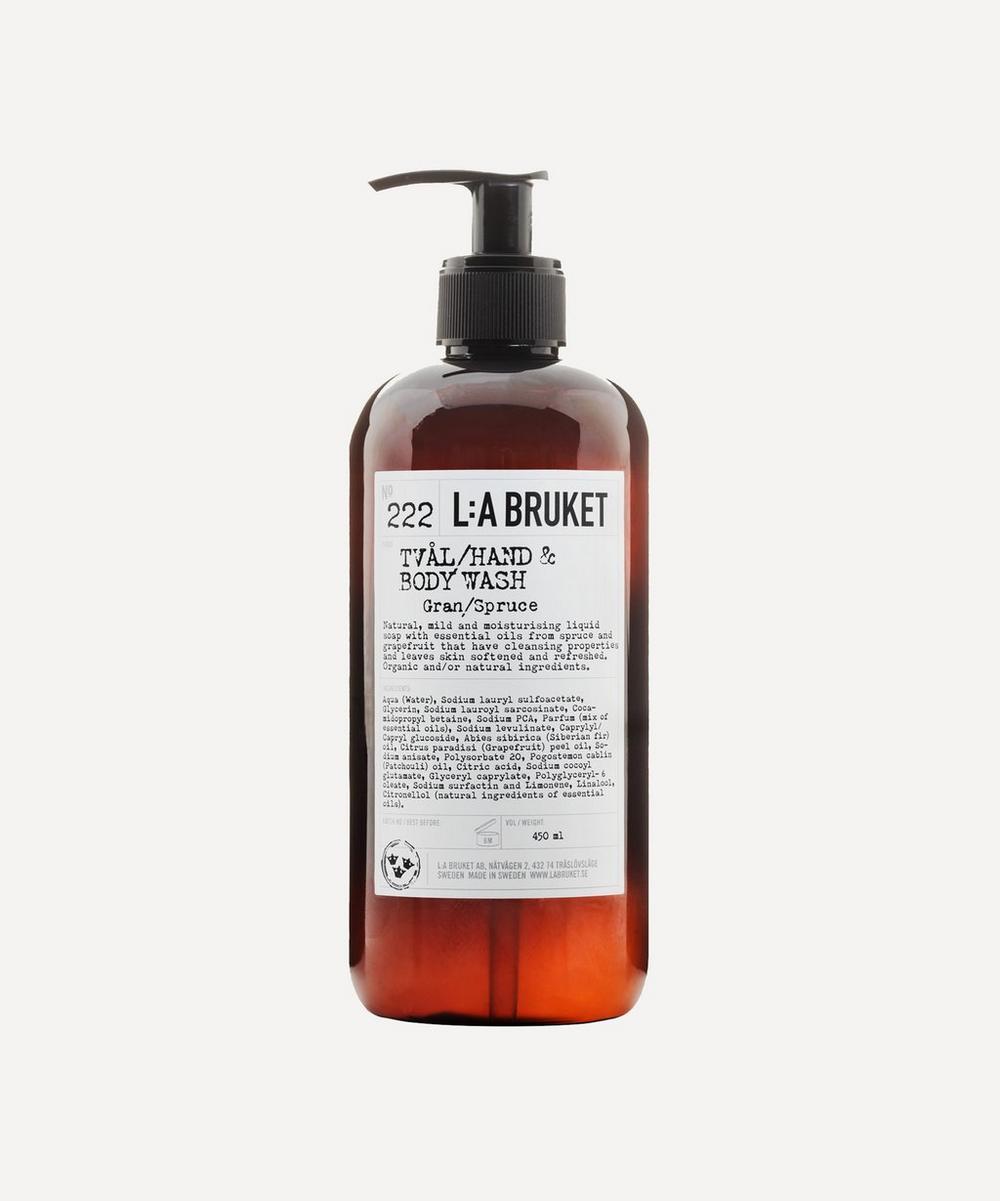 222 Spruce Hand & Body Wash 450ml