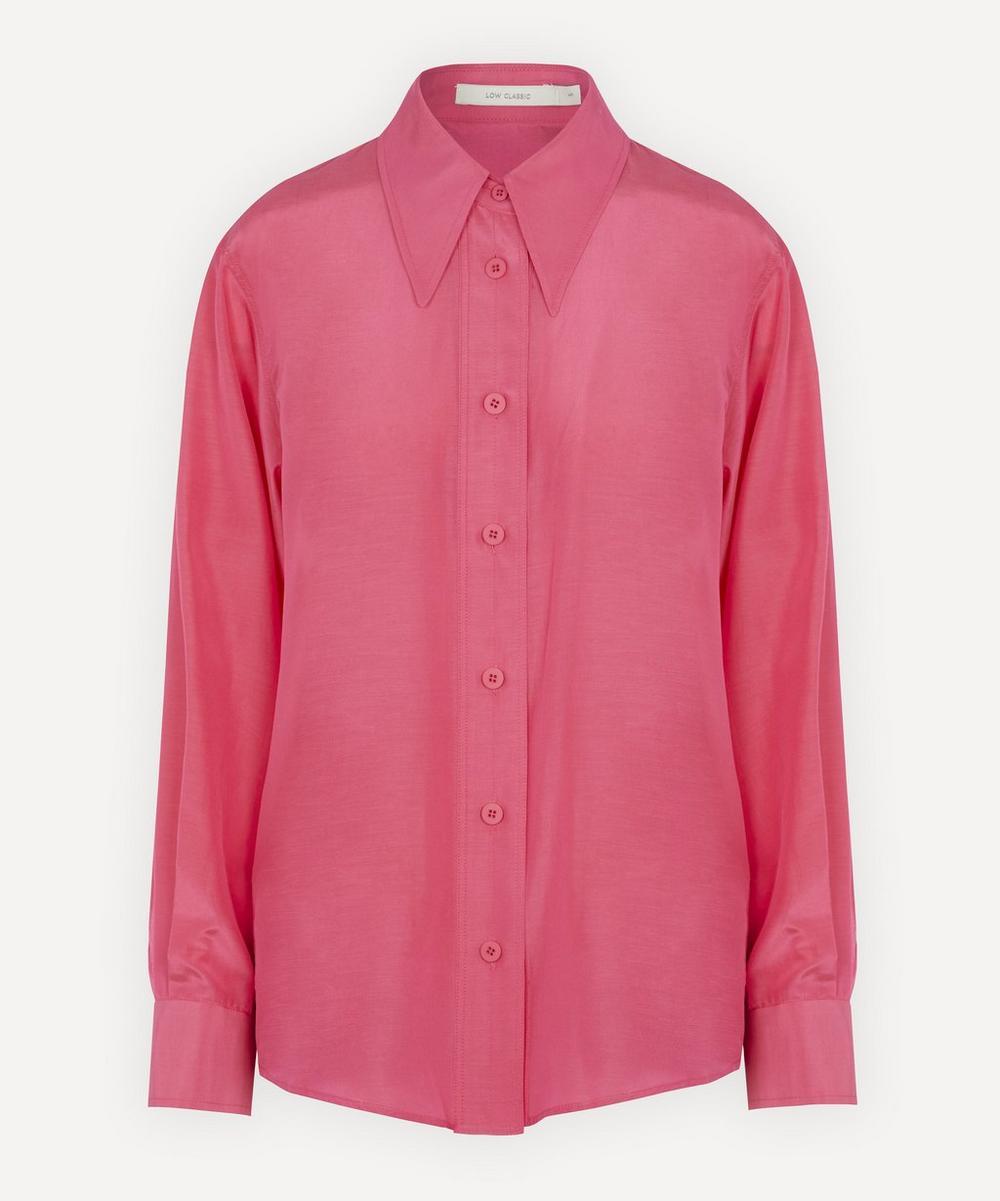 Silk and Cotton-Blend Shirt