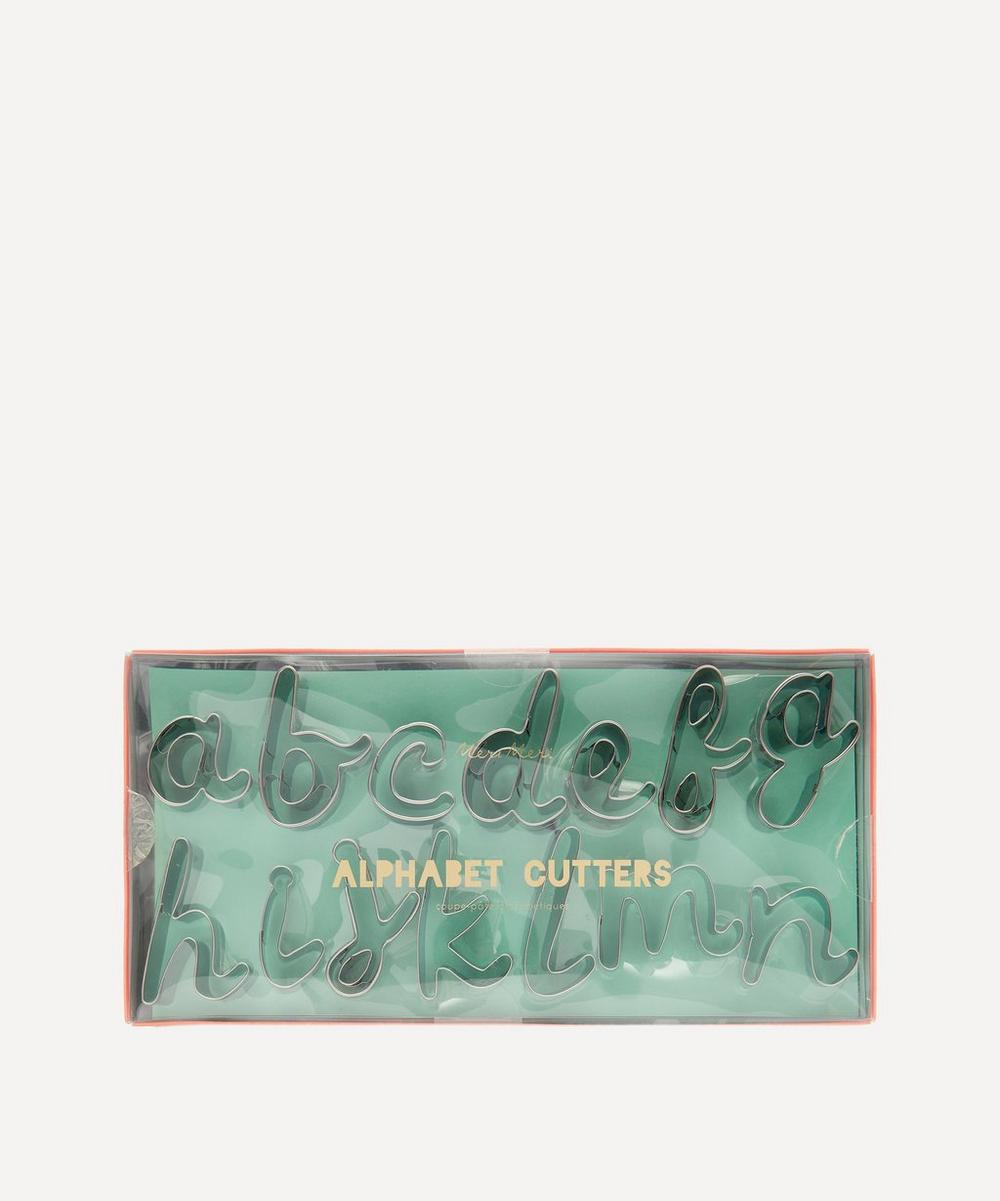 Alphabet Letter Cookie Cutter Set