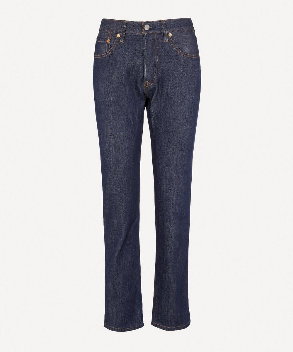 501 High-Rise Straight Jeans