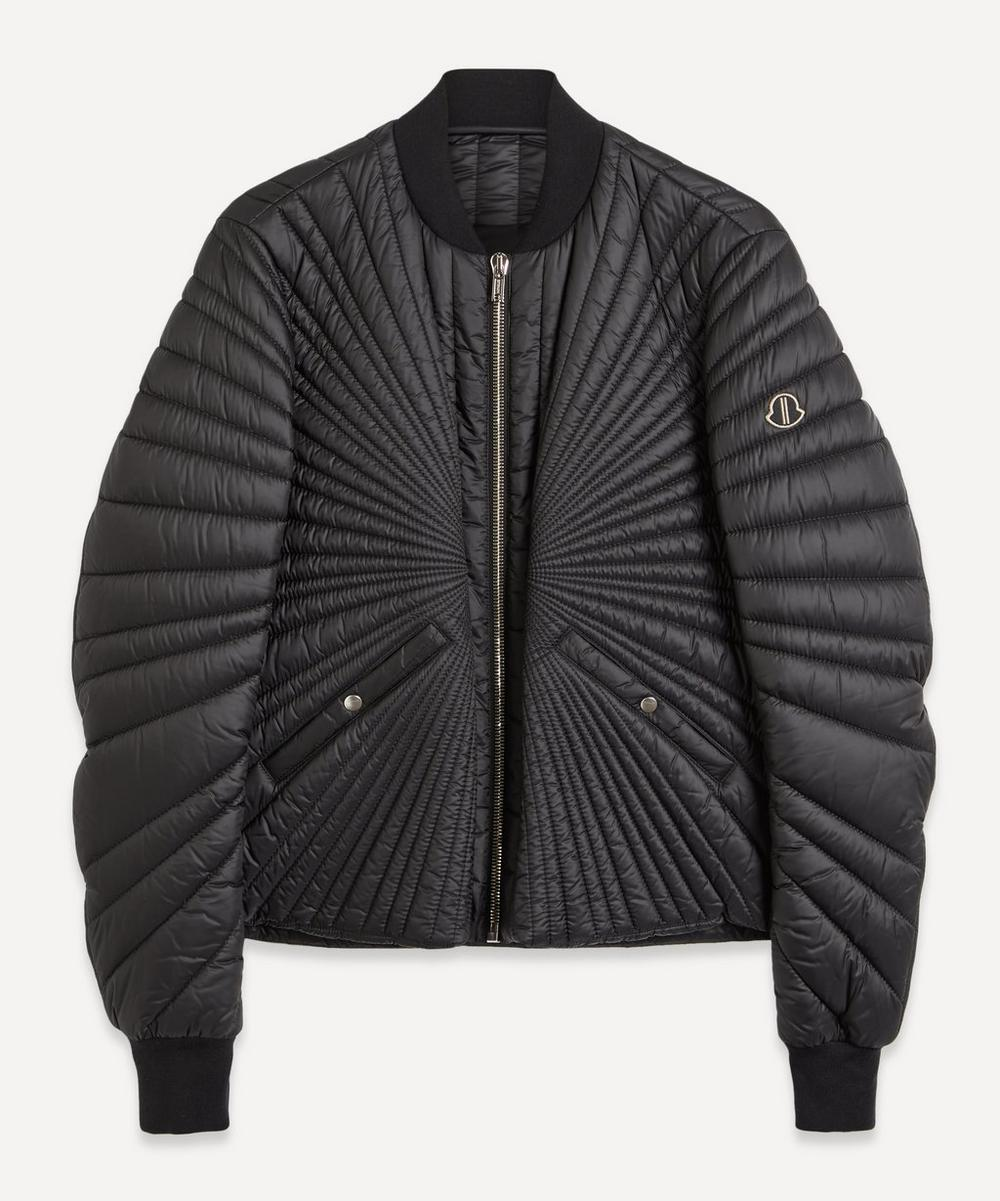 Sunray Quilted Bomber Jacket
