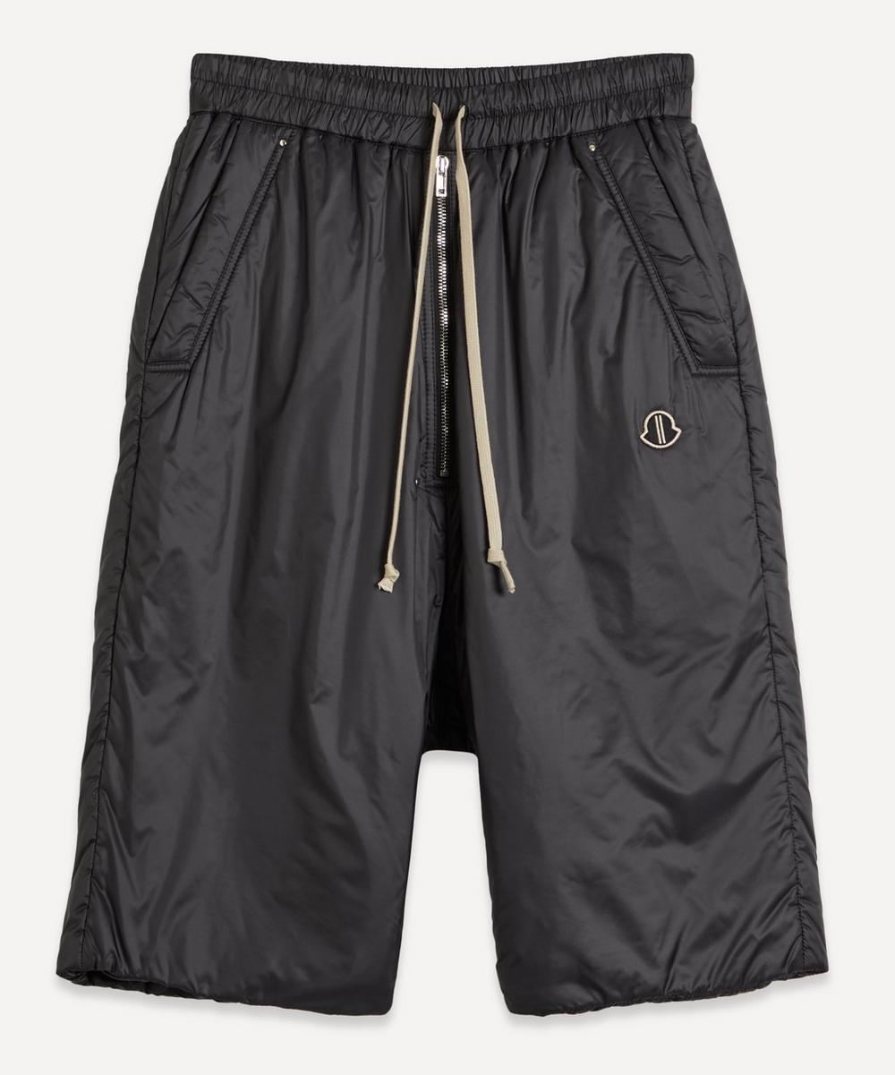 Padded Drawstring Shorts
