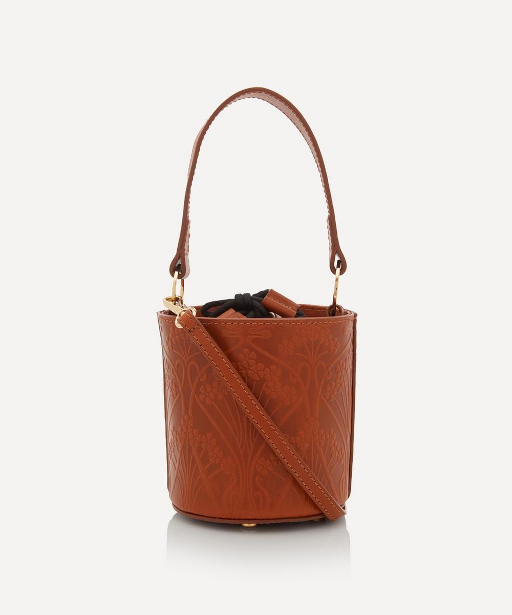 Mini Ianthe Flower Bucket Cross-Body Bag