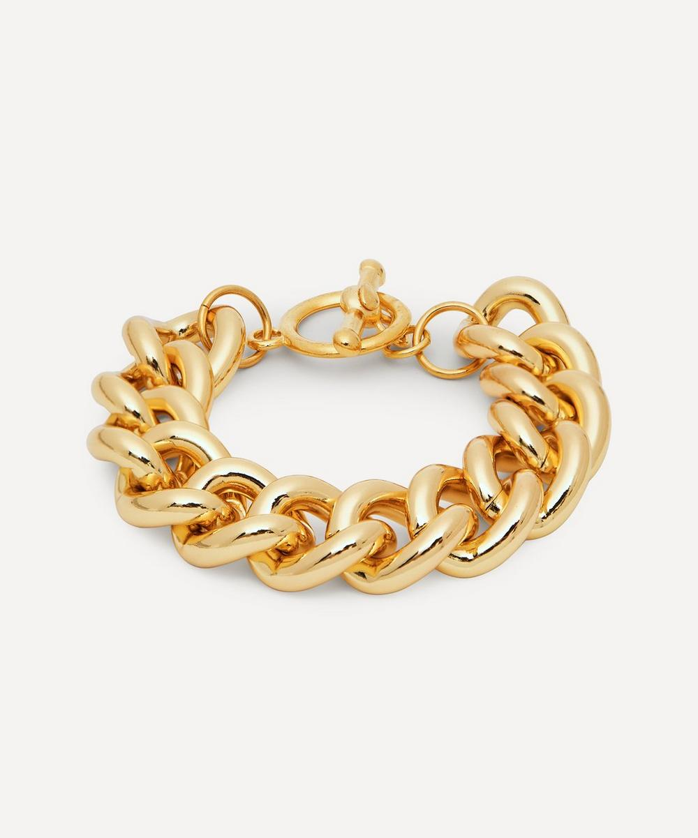 Gold-Plated Chain Bracelet