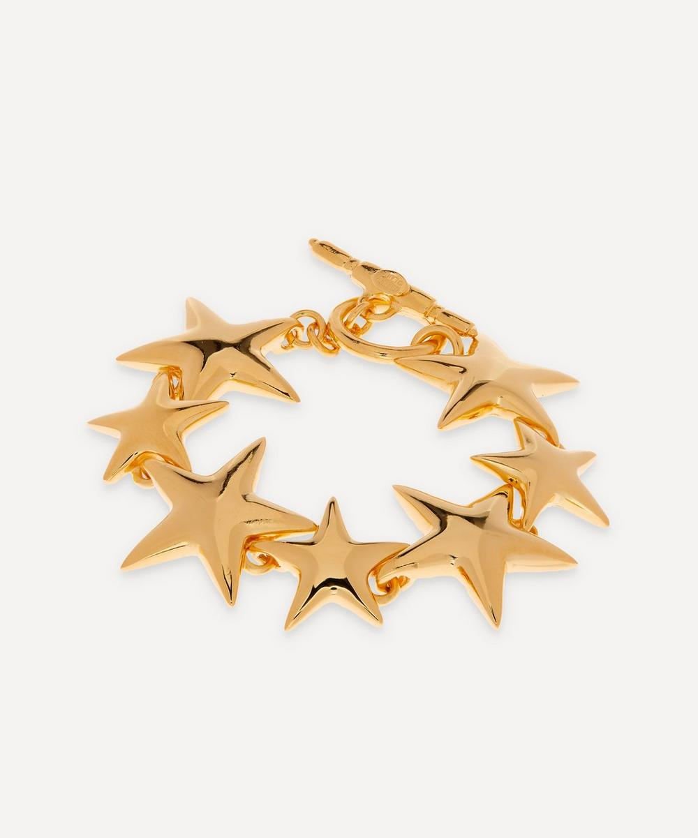Gold-Plated Star Bracelet