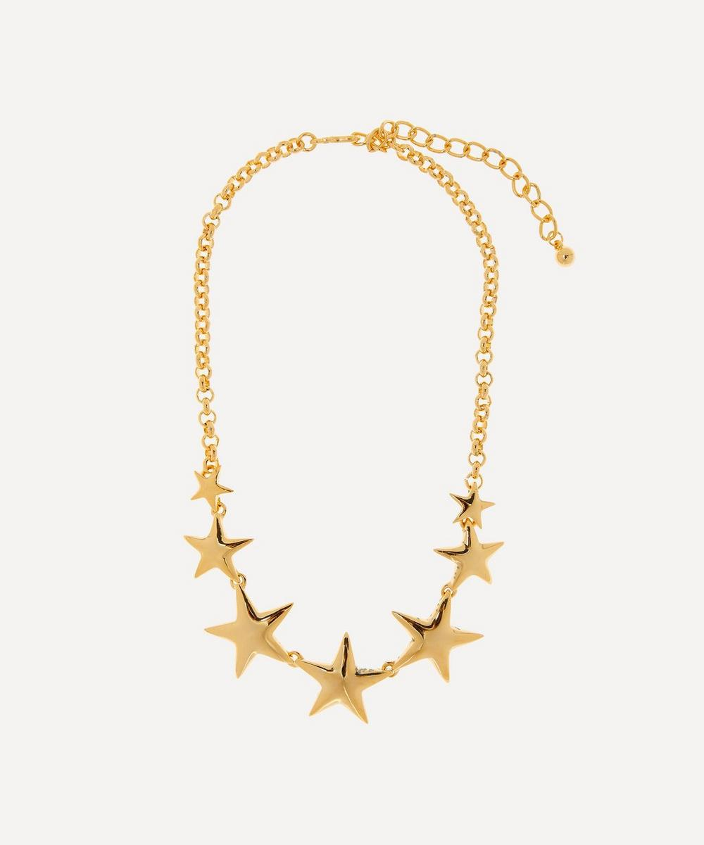 Gold-Plated Graduating Star Necklace