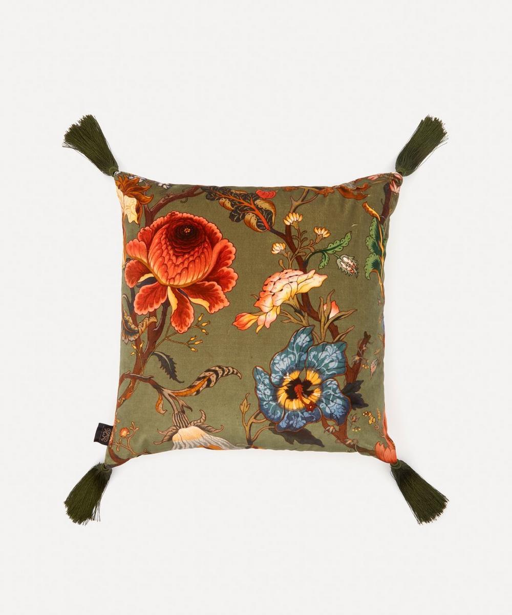 Artemis Medium Velvet Cushion