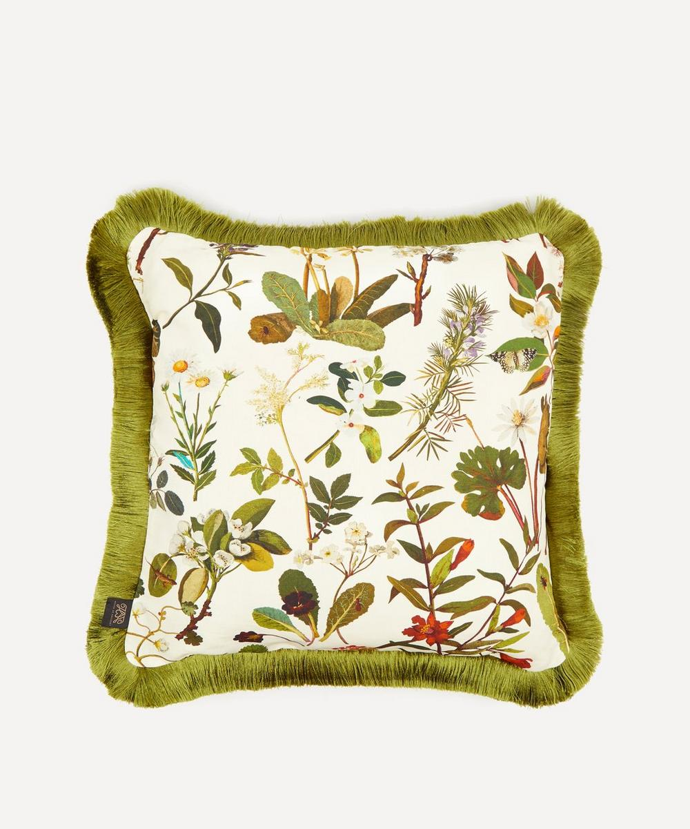 Herbarium Medium Cotton-Linen Cushion