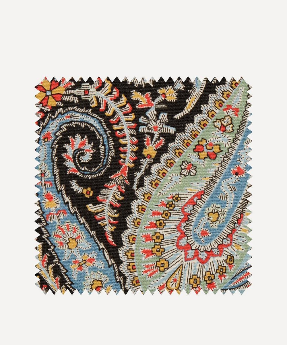 Fabric Swatch - Felix Raison Emberton Linen in Lichen Dark