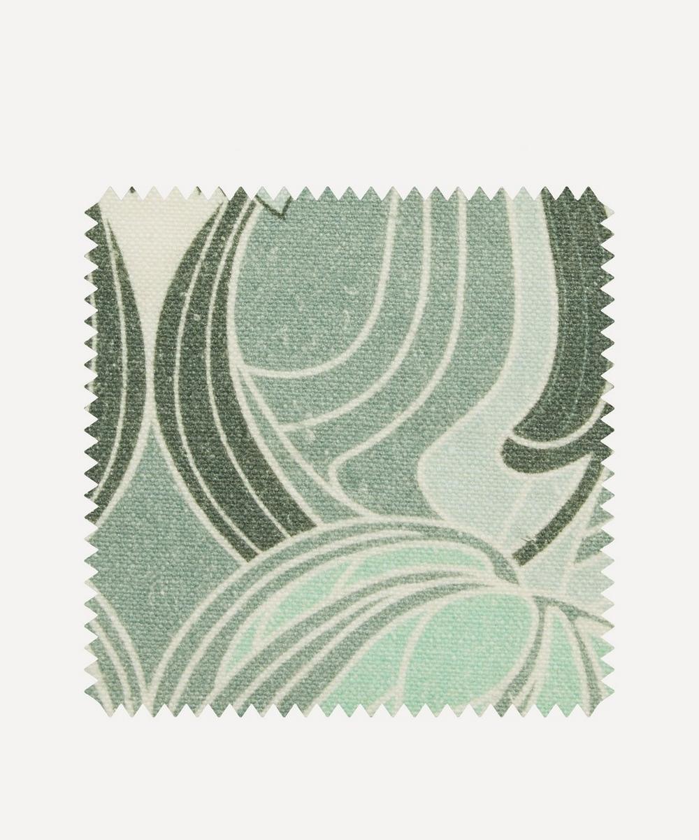 Fabric Swatch - Katherine Nouveau Emberton Linen in Jade
