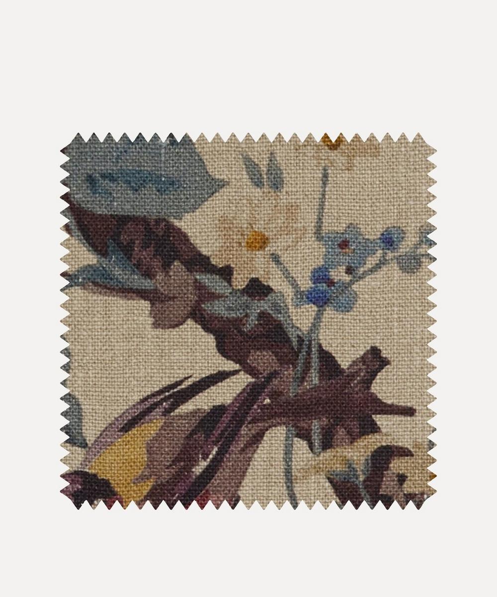 Fabric Swatch - Lady Kristina Rose Ladbroke Linen in Dragonfly