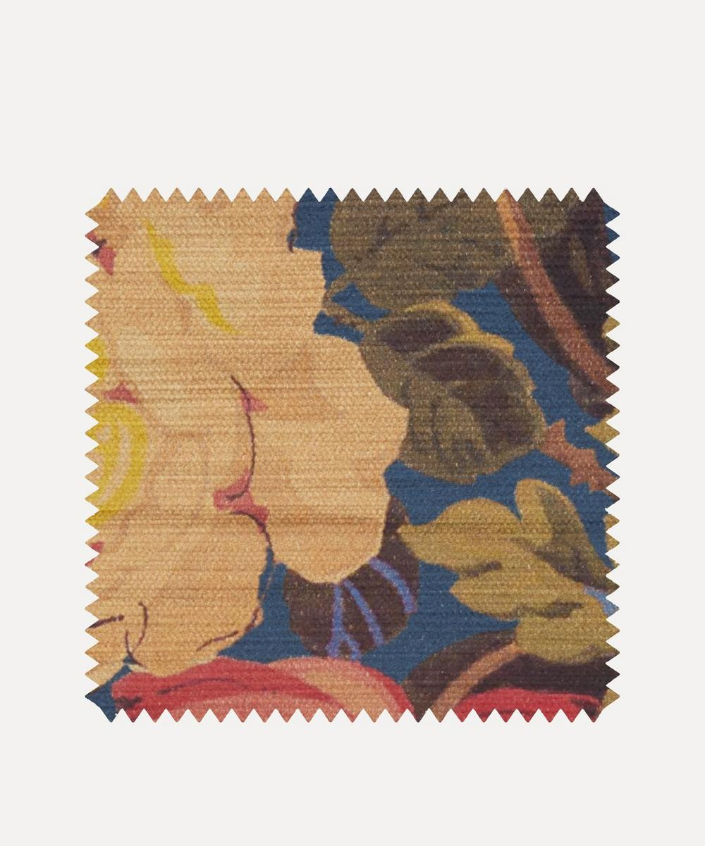 Fabric Swatch - Lady Kristina Rose Vintage Velvet in Lapis