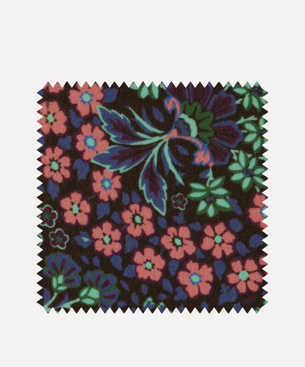 Fabric Swatch - Marquess Garden Cotton Velvet in Jade