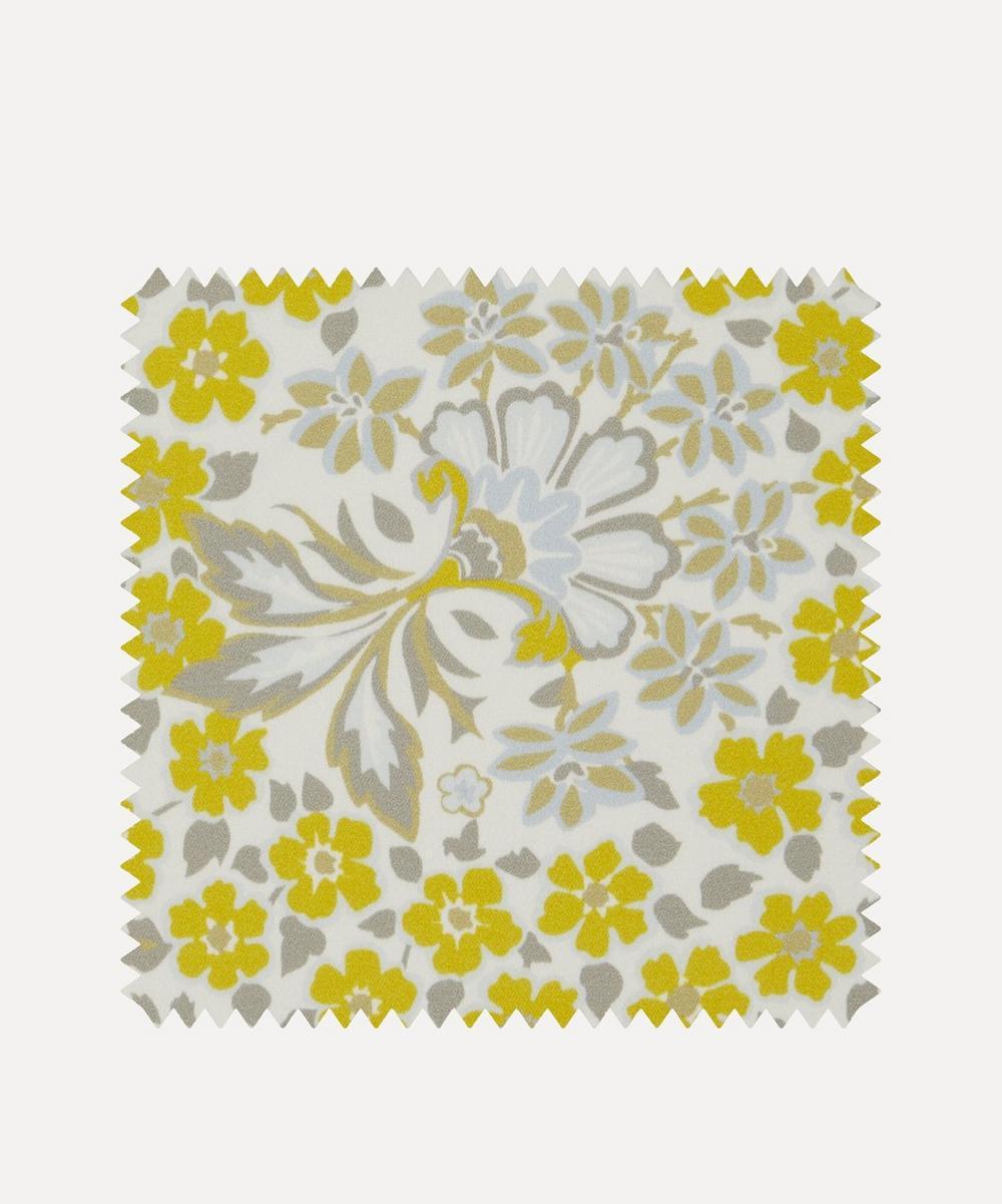 Fabric Swatch - Marquess Garden Chesham Sateen in Lichen