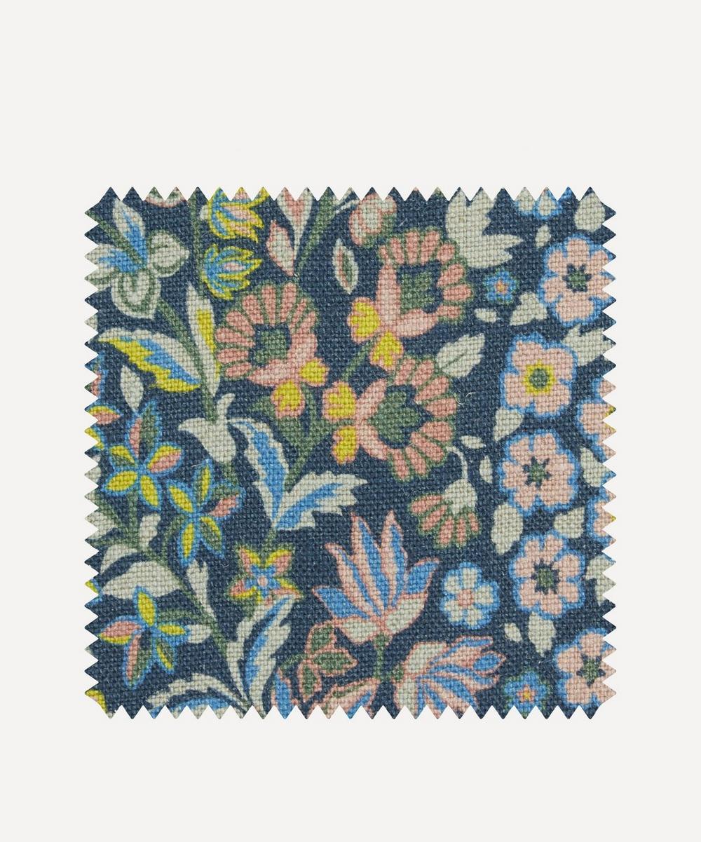 Fabric Swatch - Marquess Garden Ladbroke Linen in Lichen