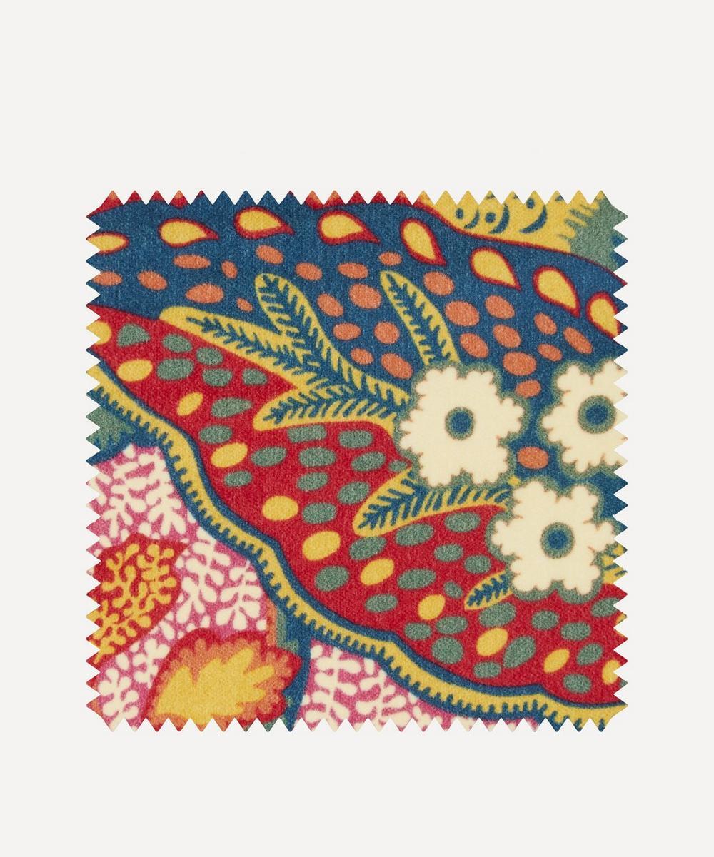 Fabric Swatch - Patricia Cotton Velvet in Lacquer Bright