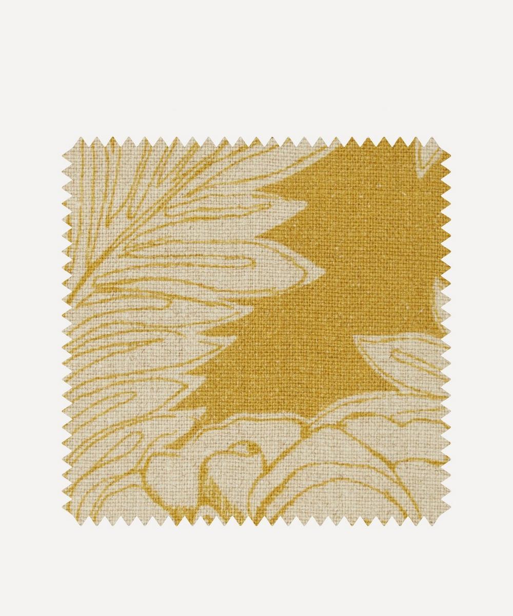Fabric Swatch - Zennor Arbour Ladbroke Linen in Lichen