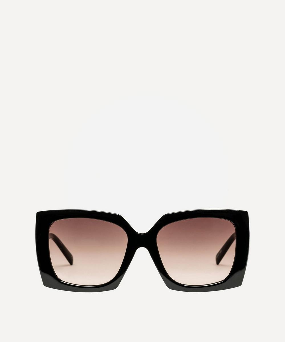 Discomania Oversized Sunglasses