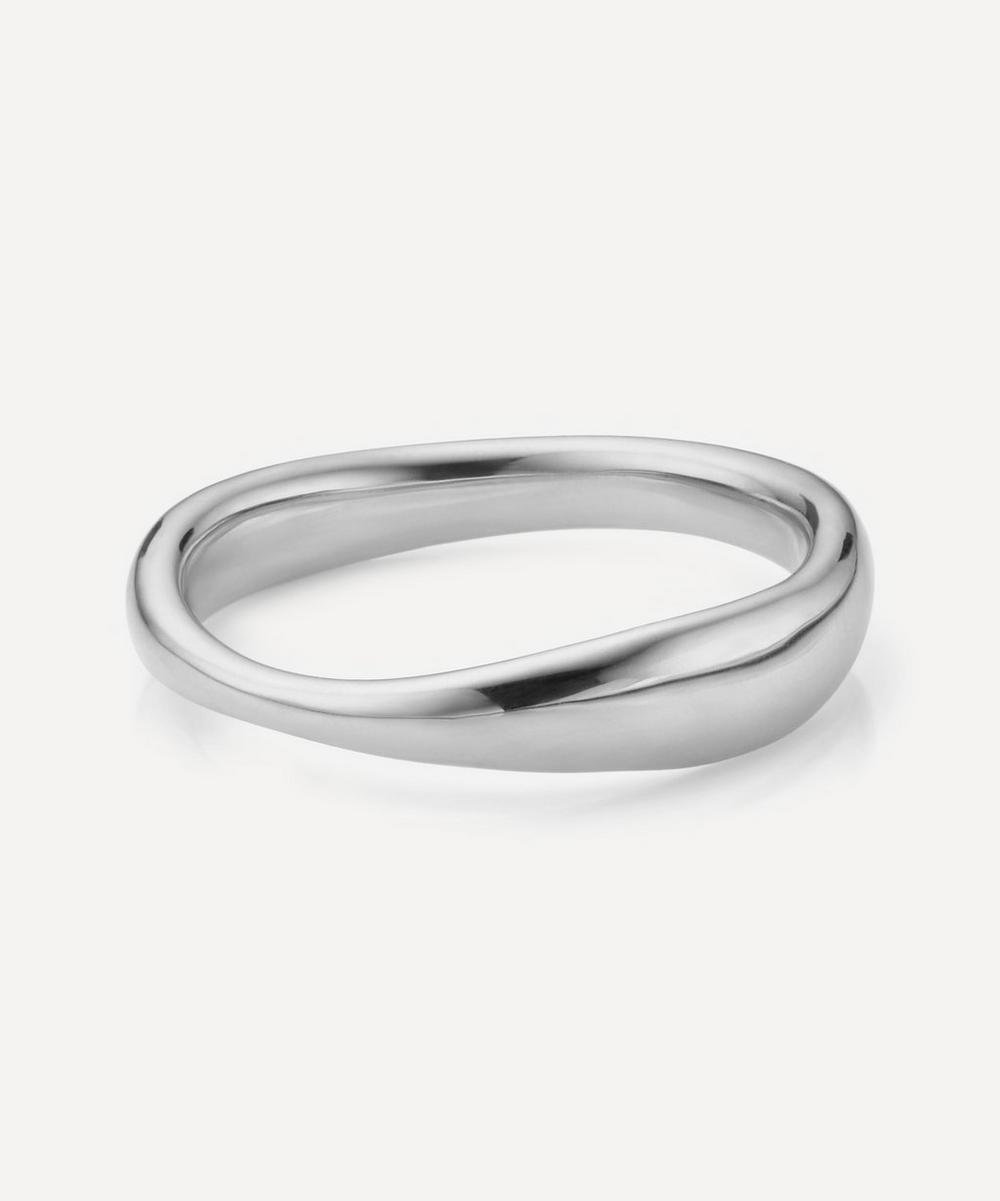 Silver Nura Reef Stacking Ring