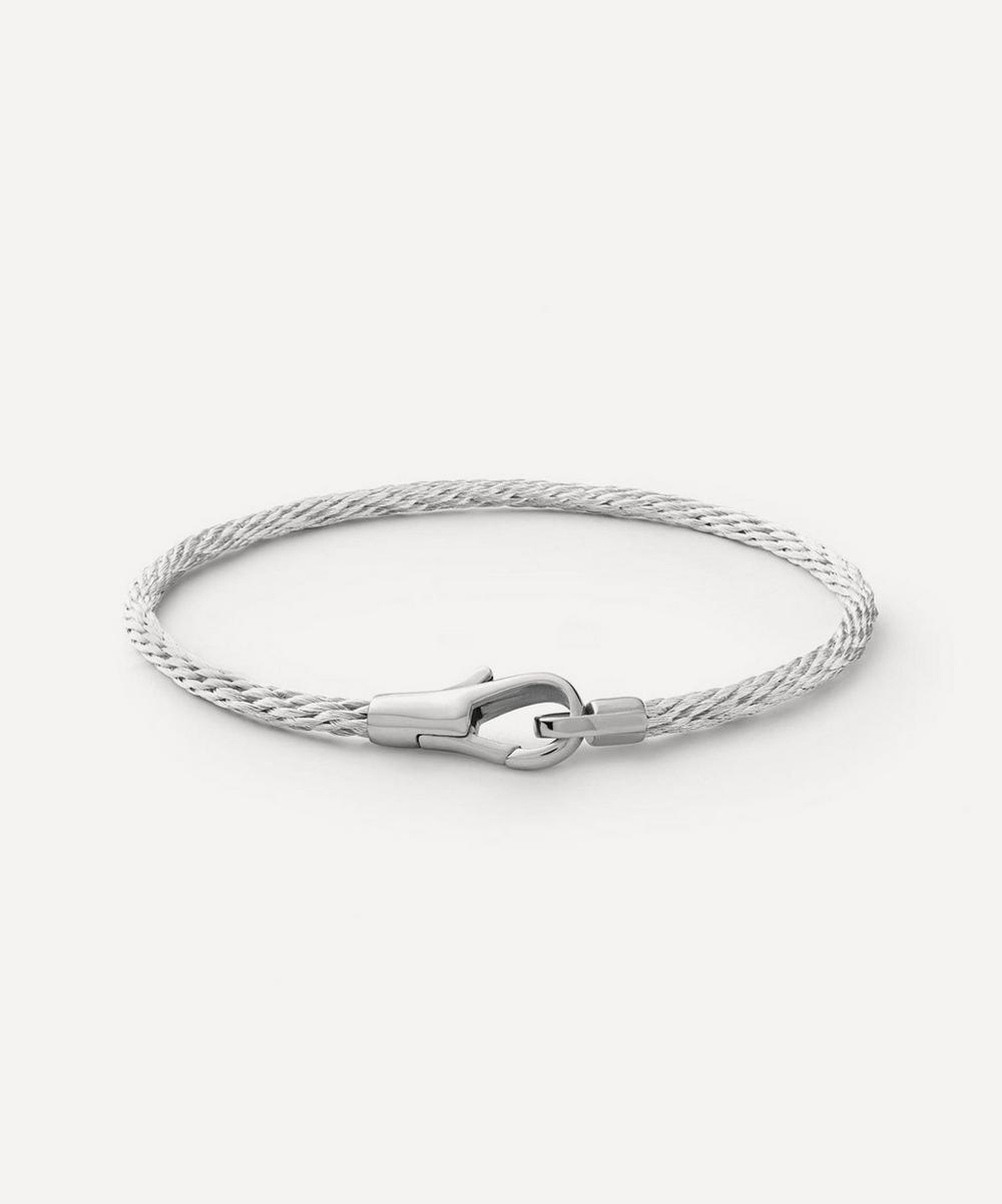 Sterling Silver Knox Cable Bracelet