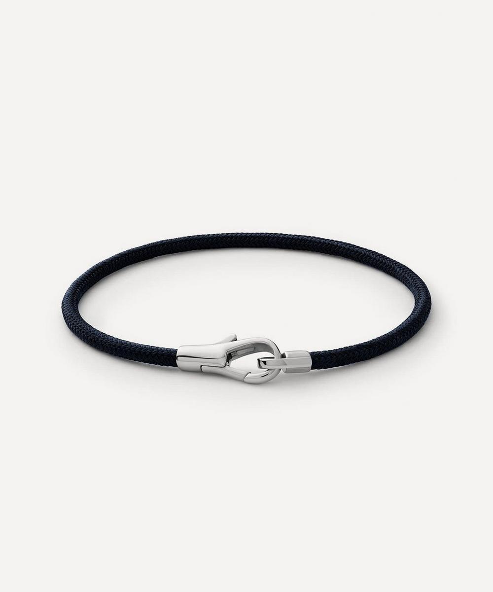 Sterling Silver Knox Rope Bracelet