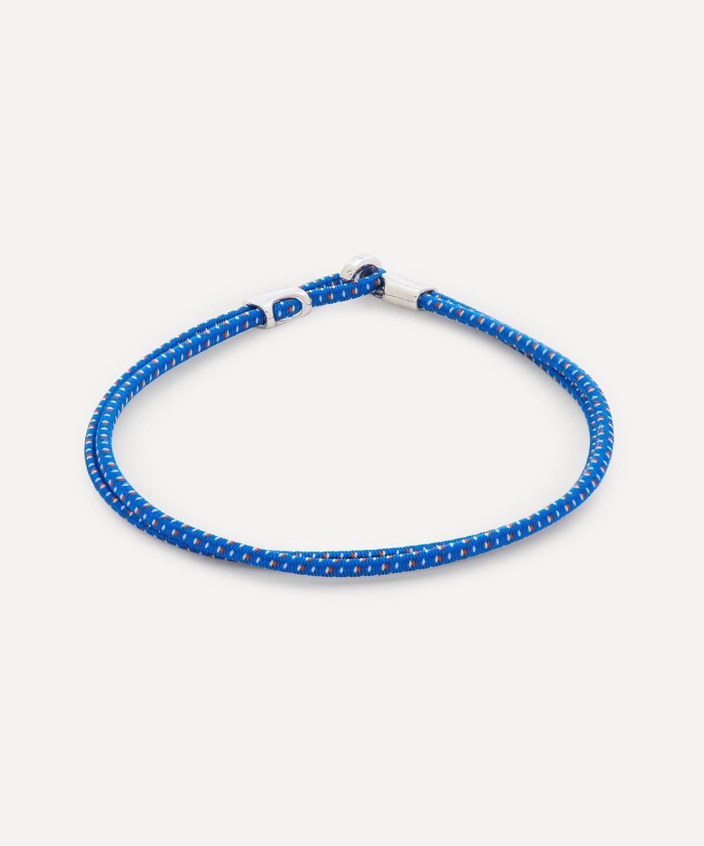 Sterling Silver Orson Loop Bungee Rope Bracelet
