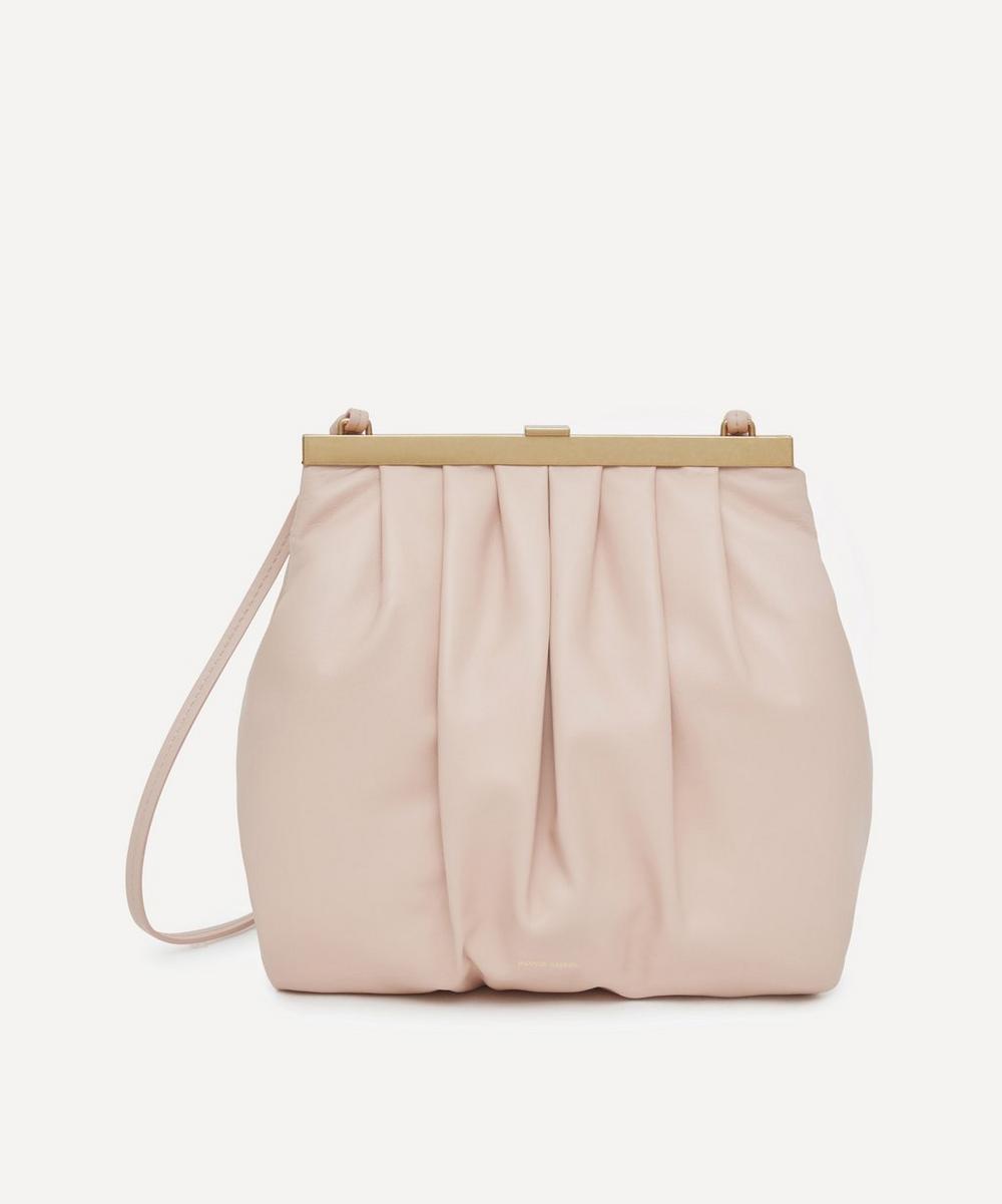 Wave Frame Leather Cross-Body Bag