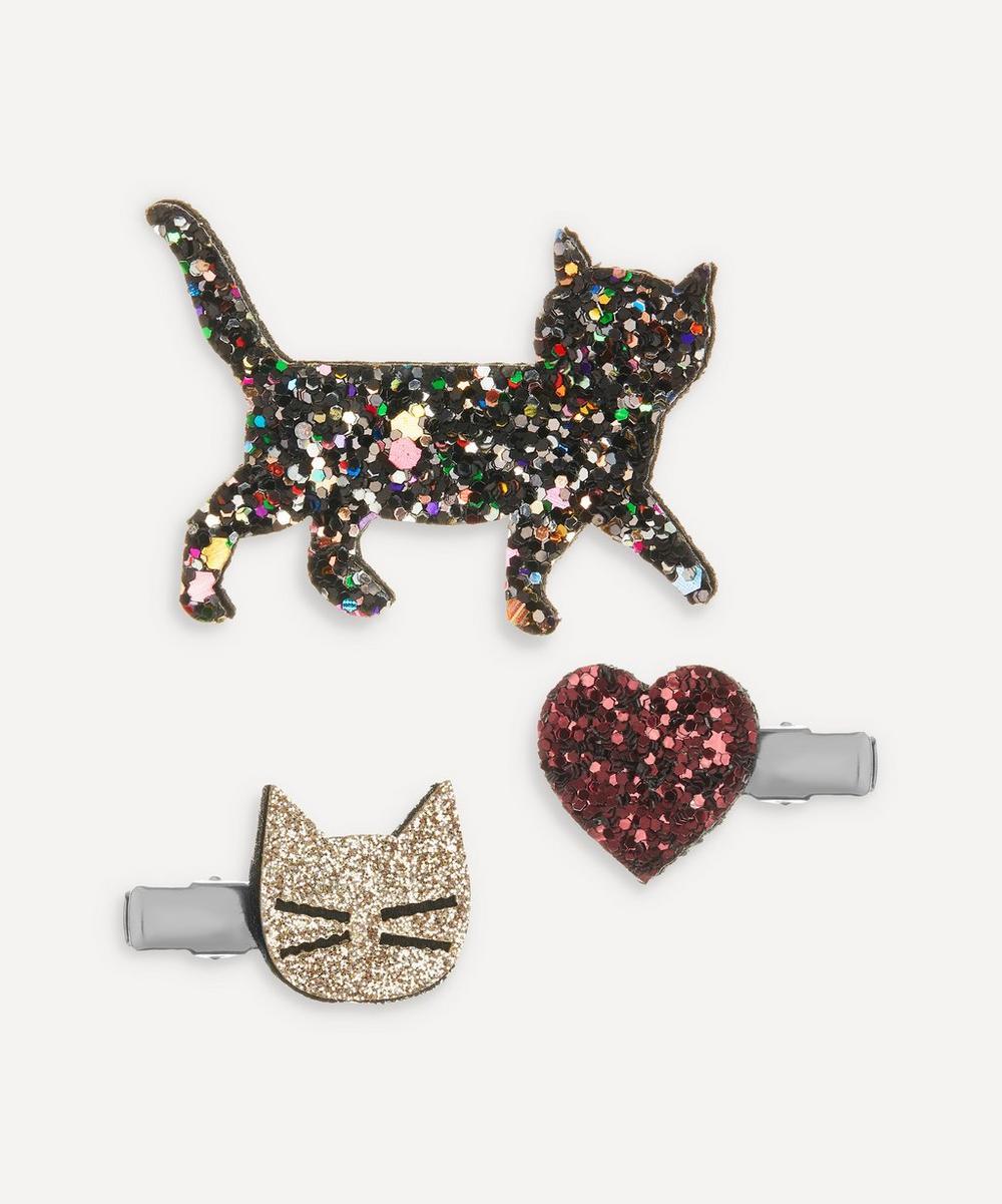 Kitty Cat Clip Set of Three