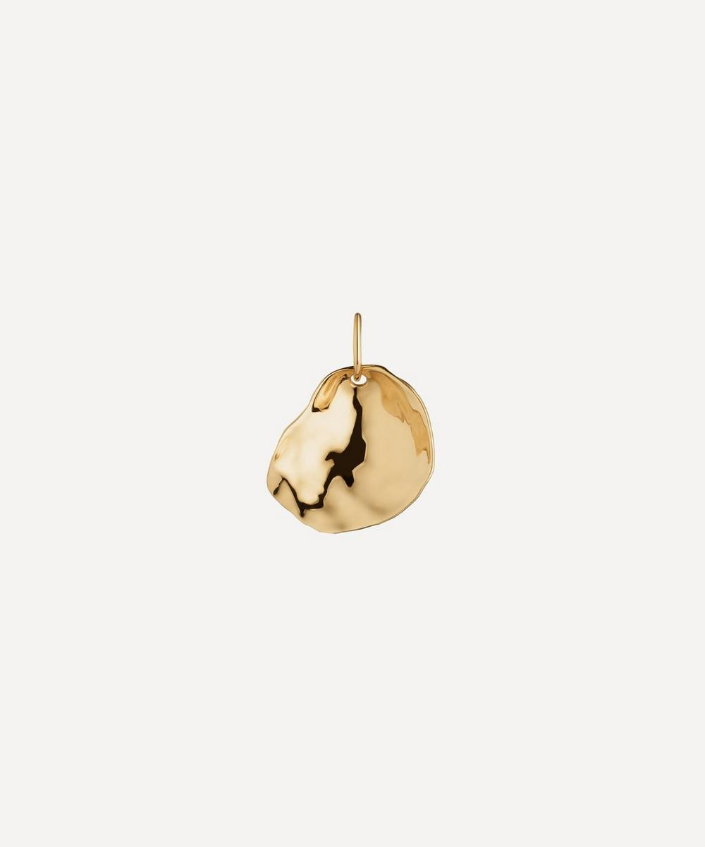 Gold Plated Vermeil Silver Nura Small Shell Pendant Charm