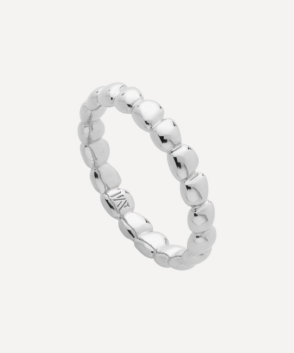 Silver Nura Teardrop Eternity Ring