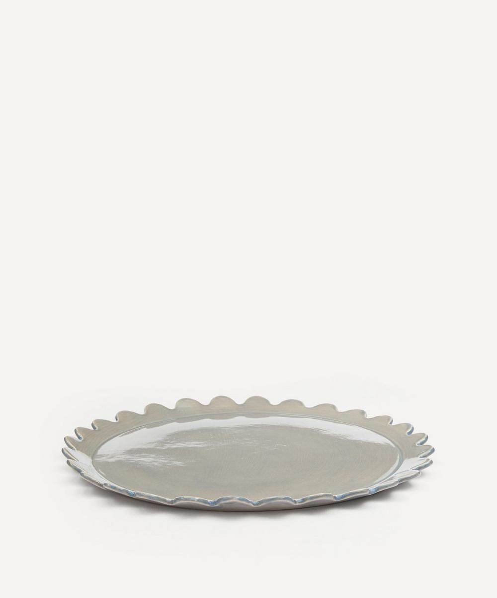 Daisy Edge Dinner Plate