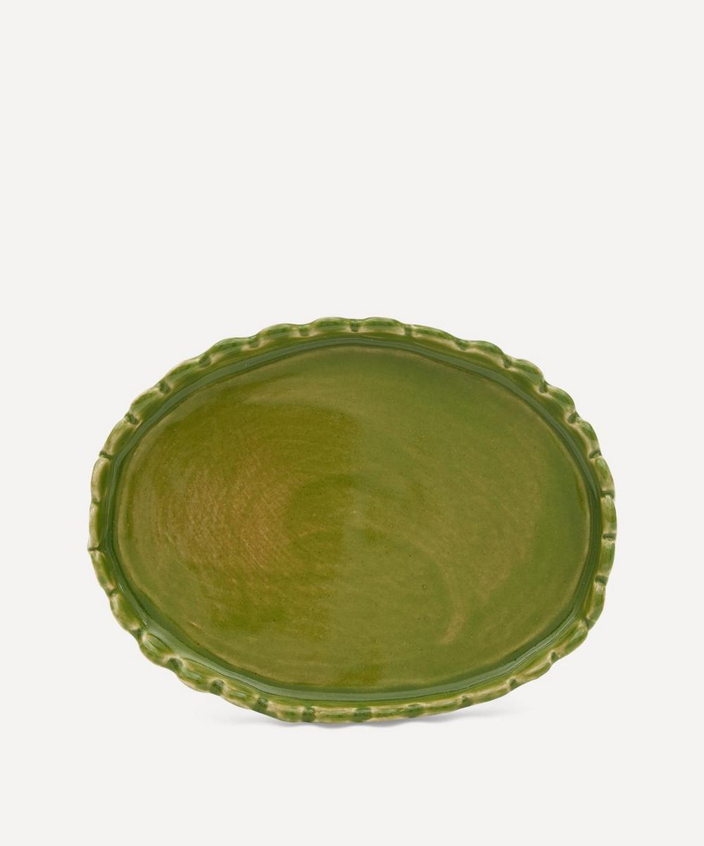 Scalloped Butter Dish