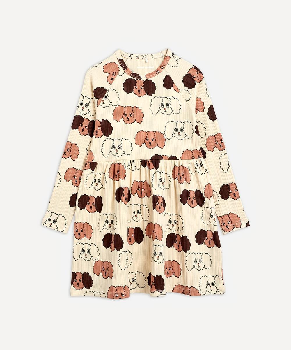Fluffy Dog Dress 2-8 Years