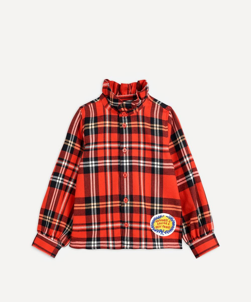 Woven Flannel Blouse 2-8 Years