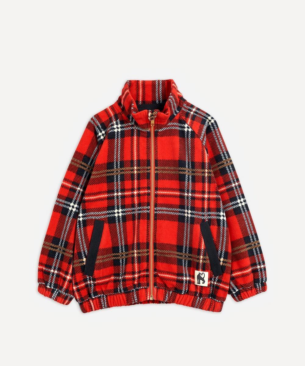 Fleece Check Jacket 2-8 Years