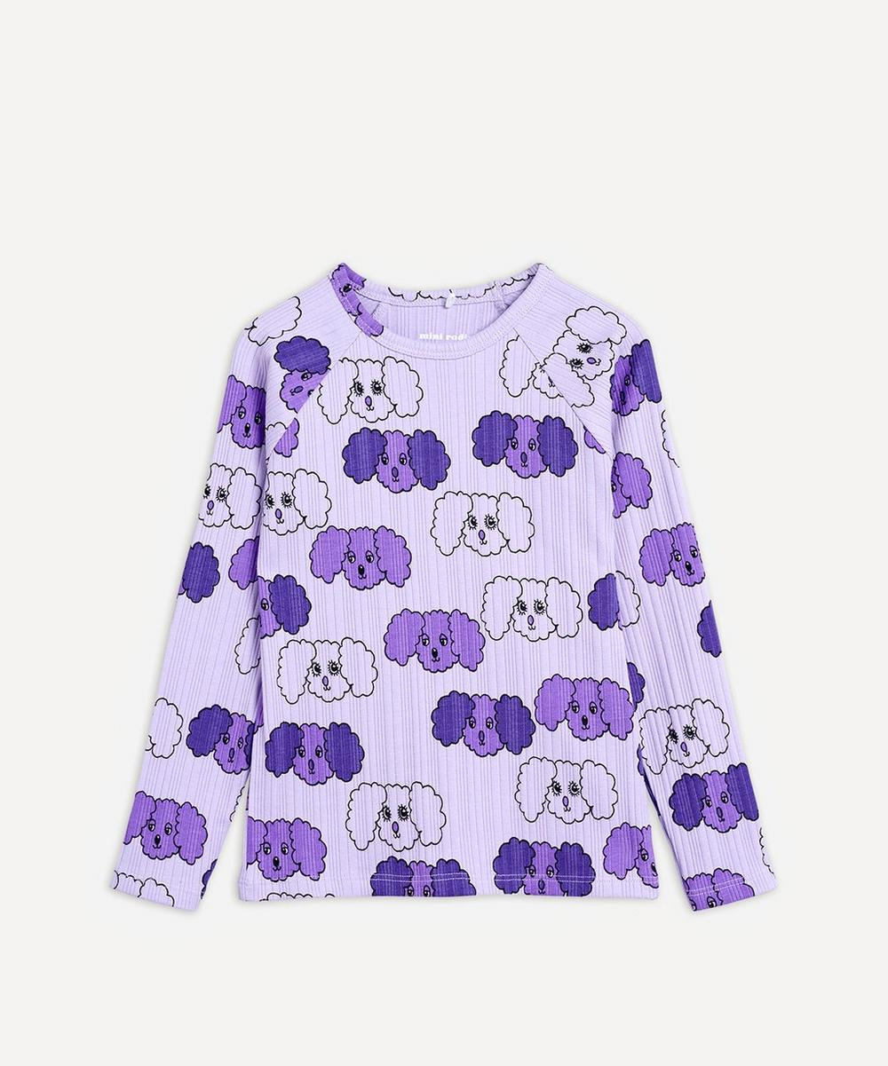 Fluffy Dog Long-Sleeved Top 2-8 Years